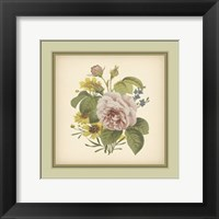 Framed Tuscany Bouquet (P) VIII
