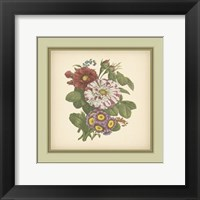 Framed Tuscany Bouquet (P) X