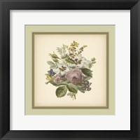 Framed Tuscany Bouquet (P) XII