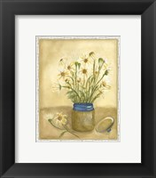 Framed Country Daisy I