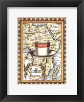 Framed Exotic Coffee (D) II