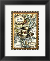 Framed Exotic Tea (D) II