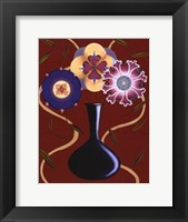 Framed Loft Flowers III