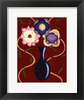 Framed Loft Flowers IV