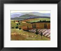 Framed Tuscany Afternoon II