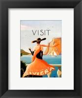 Framed Sunny Riviera