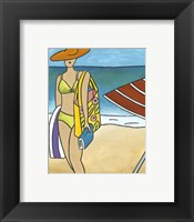 Framed Beach Blanket Baby I