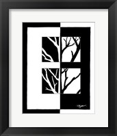 Framed Minimalist Tree II
