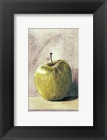 Framed Granny Smith Apple