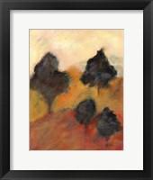 Framed Printed Sonoma Hills I
