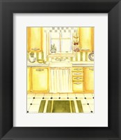 Framed Retro Kitchen I