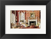 Framed Classic English Country House Drawing Room