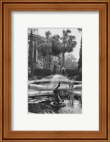 Framed Garden Fountain II