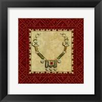 Framed Marrakesh Jewels