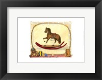 Framed Rocking Horse (D) I