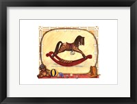 Framed Rocking Horse (D) II