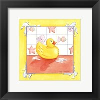Framed Rubber Duck (D) I