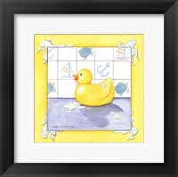 Framed Rubber Duck (D) II