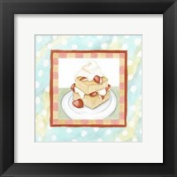 Framed Strawberry Shortcake