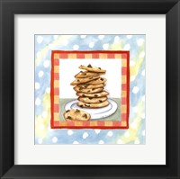Framed Chocolate Chip Cookies