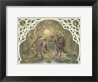 Framed Raccoon's Masked Ball