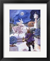 Framed Cinderella Rabbit