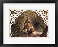 Framed Missy Rabbit