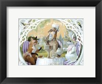 Framed Rabbit's Tea Party