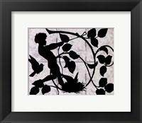 Framed Child Silhouette II