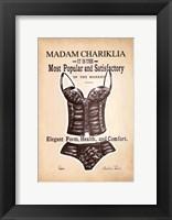 Framed Chariklia's Lingerie I