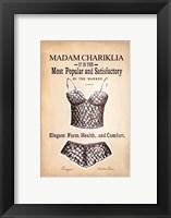 Framed Chariklia's Lingerie III