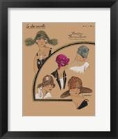 Framed Elegant Chapeau II