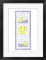 Frog Trio Framed Print