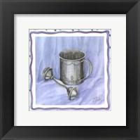 Framed Heirloom Cup & Rattle I