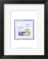 Framed Frog with Plaid (PP) I