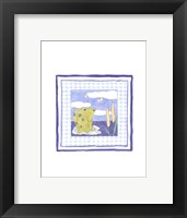 Framed Frog with Plaid (PP) II