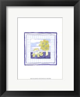 Framed Turtle with Plaid (PP) I
