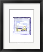 Framed Turtle with Plaid (PP) II
