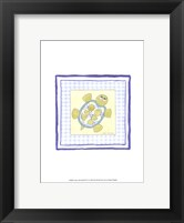 Framed Turtle with Plaid (PP) IV