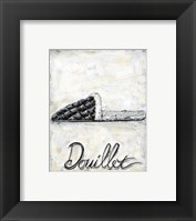 Framed French Cozy Slipper