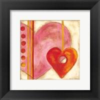 Framed Pop Hearts III