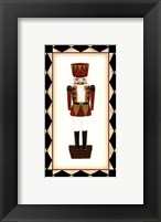 Framed Small Nutcracker (H)