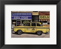 Framed NYC Taxi 46B2