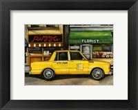 Framed NYC Taxi 5A72