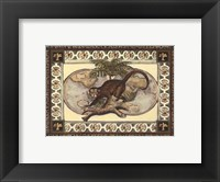 Tropical Monkey I Framed Print