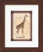 Framed Giraffe with Border II