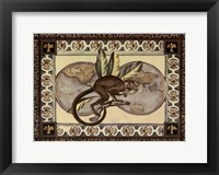 Large Tropical Monkey II Framed Print