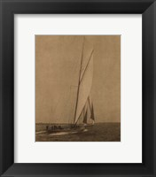Framed Racing Yachts I