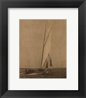 Framed Racing Yachts I