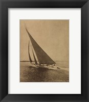 Framed Racing Yachts II